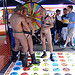 Naked twister at the Dore Alley Fair