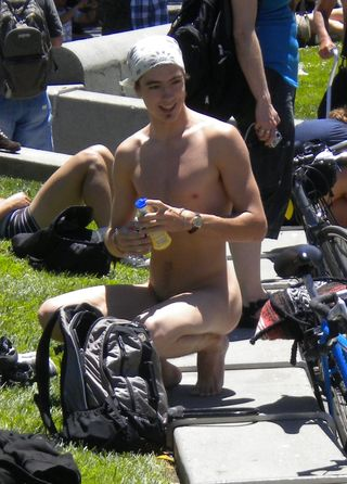 World Naked Bike Ride 2010 in San Francisco